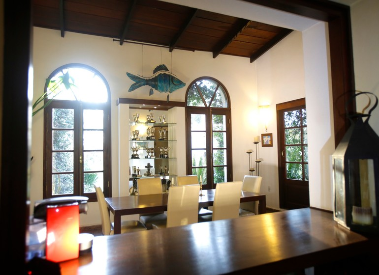 Uruguay Voyage Lavalleja Balcon del Abra salle à manger