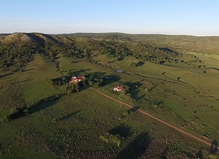 Uruguay Voyage Lavalleja Balcon del Abra vue du ciel