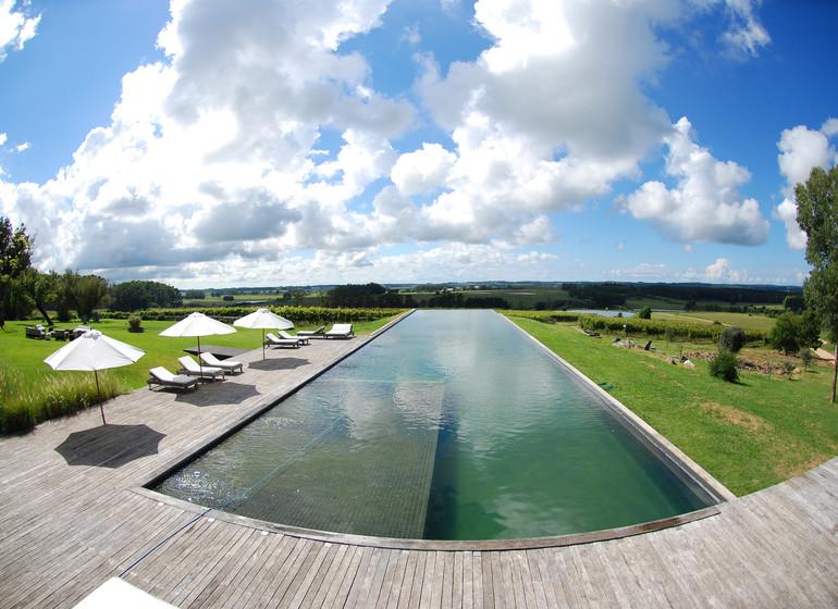 Uruguay Voyage Aguaverde Winelodge piscine