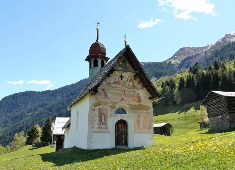 Voyage en Suisse source thermale bien-être grisons