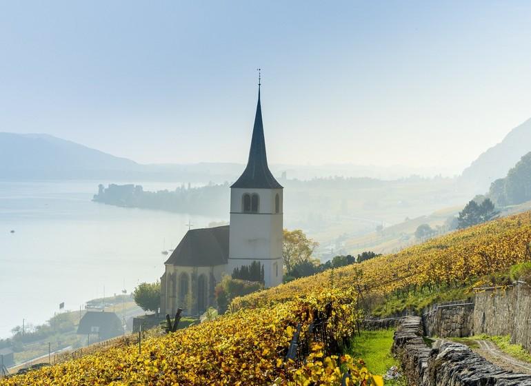 Voyage en Suisse village et canton Bienne