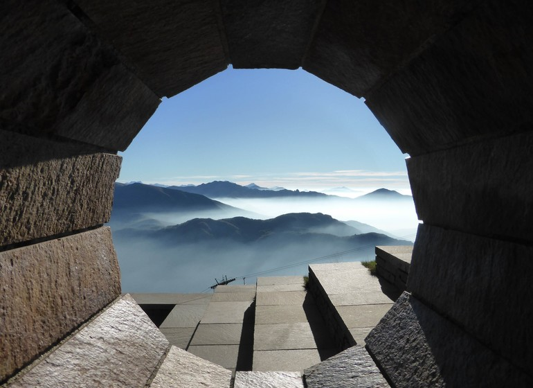 Voyage en Suisse italienne village et canton lugano tessin