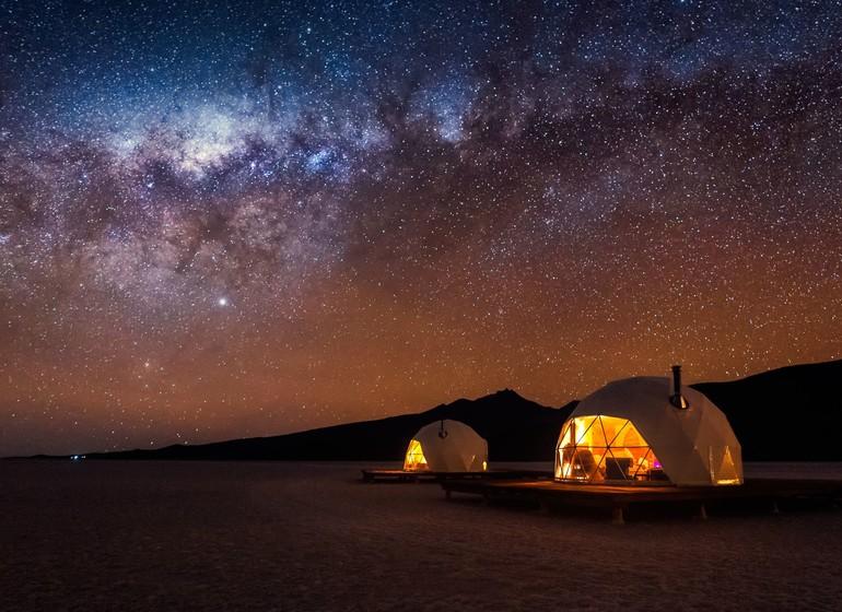 Bolivie Voyage kachi Lodge sous les étoiles