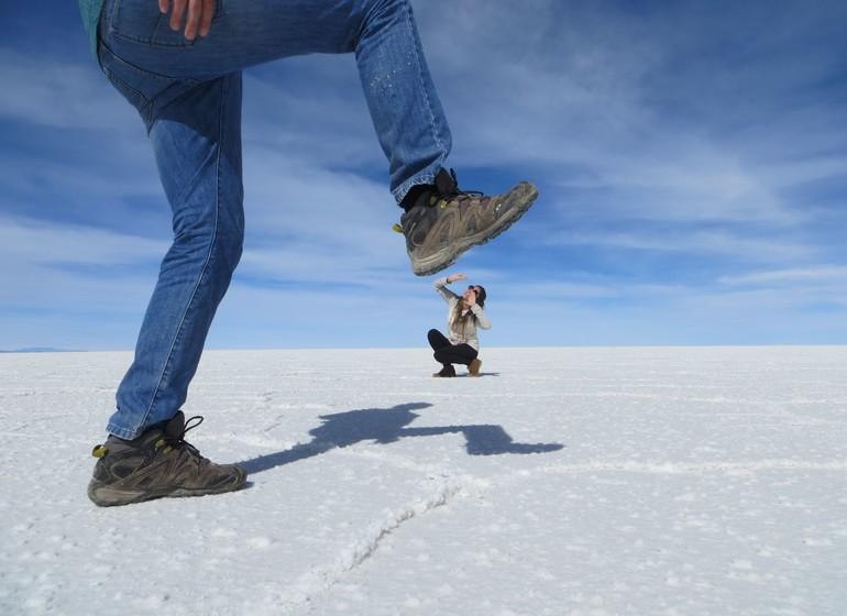 Bolivie Voyage Uyuni Perspective