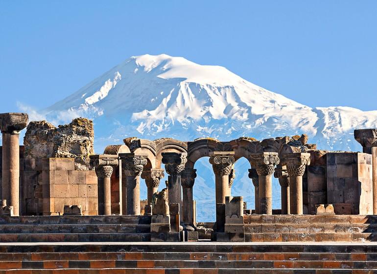 Zvarnotz, voyage en Arménie