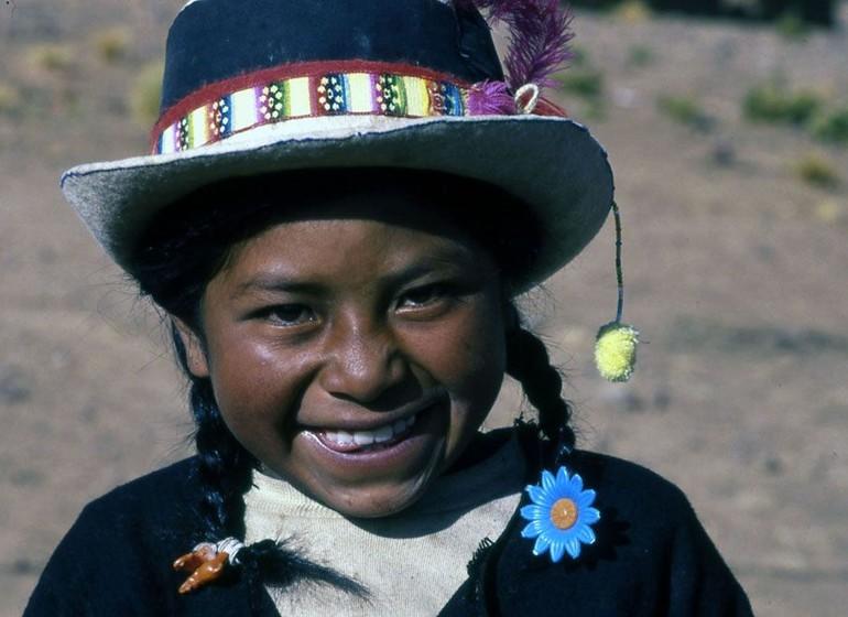 Bolivie Voyage visage d'enfant