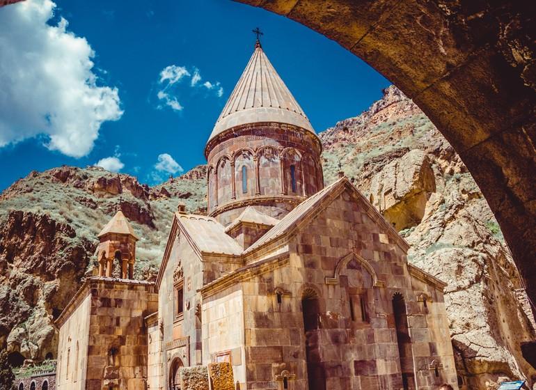 Geghard, voyage en Arménie