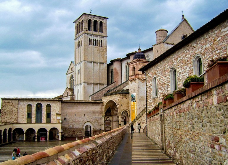 Assisi, Voyage en Italie