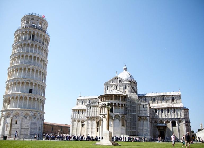 Pisa, Voyage en Italie