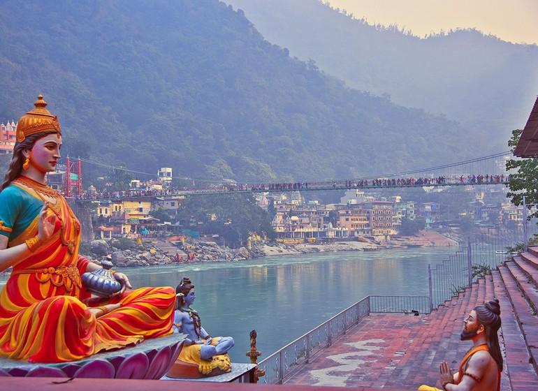 Voyage en Inde, Rishikesh
