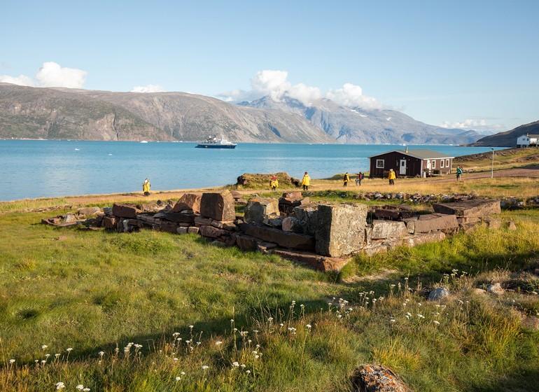 Le Groenland par la mer, la terre et les airs.