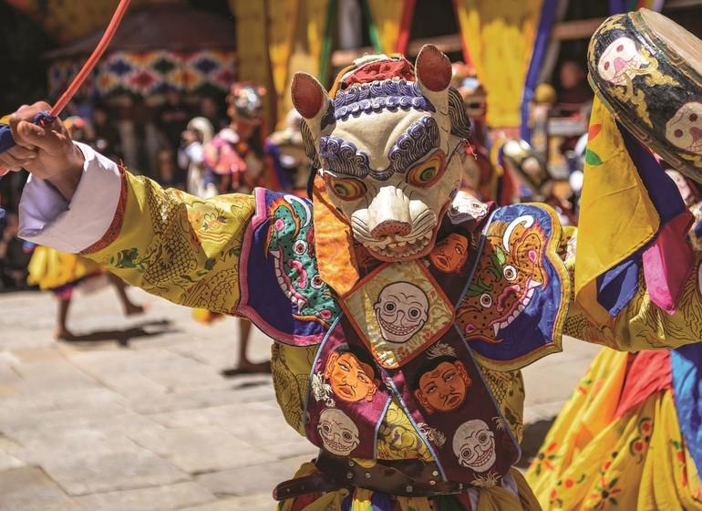 "CIRCUIT EN GROUPE ""Festival Thimphu Tschechu"""
