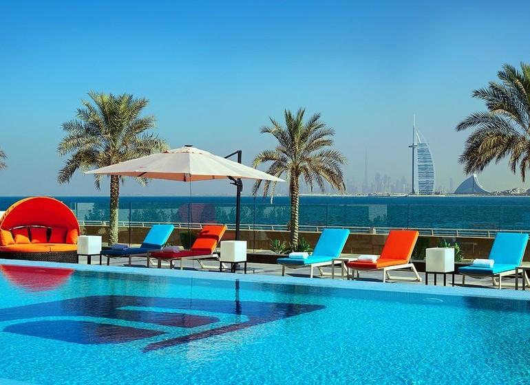 Aloft palm jumeirah piscine